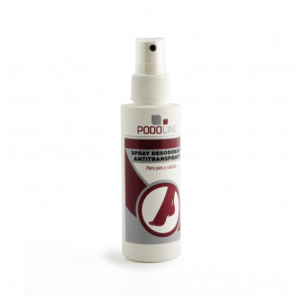 SPRAY Desodorante Antitranspirante PODOLINE 125 ml.