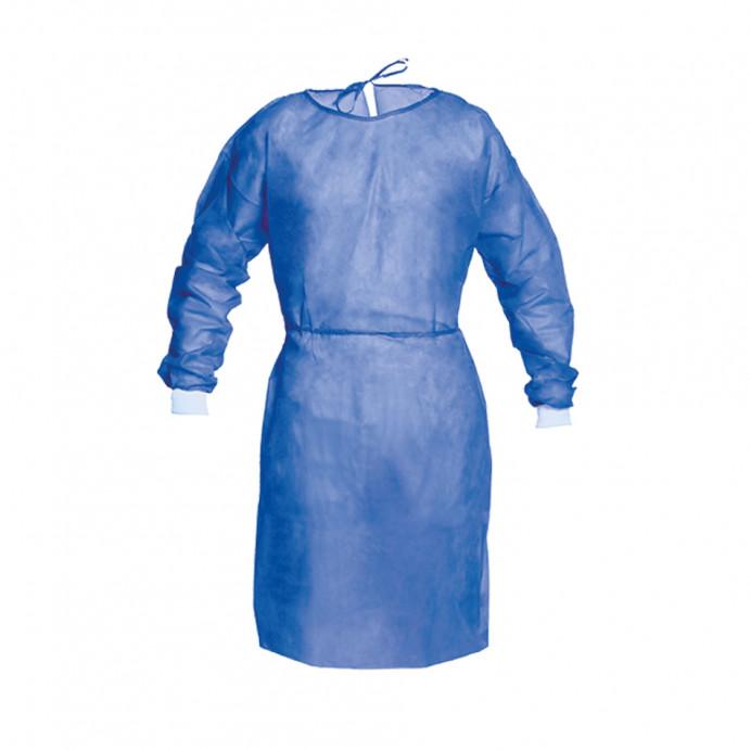 Bata PP Aislante impermeable azul (...