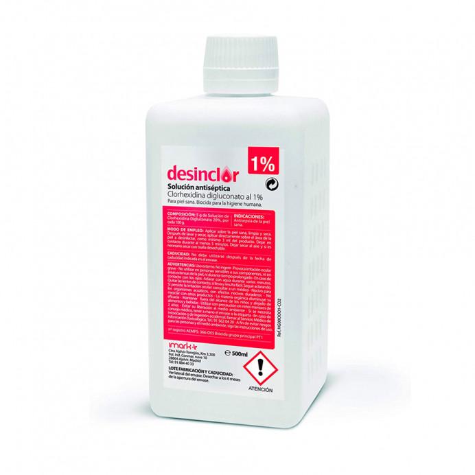 Clorhexidina 1%  500 ml.