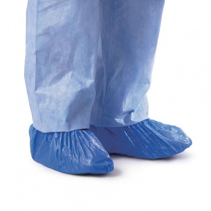 CUBREZAPATOS Plástico azul (100 uds.)