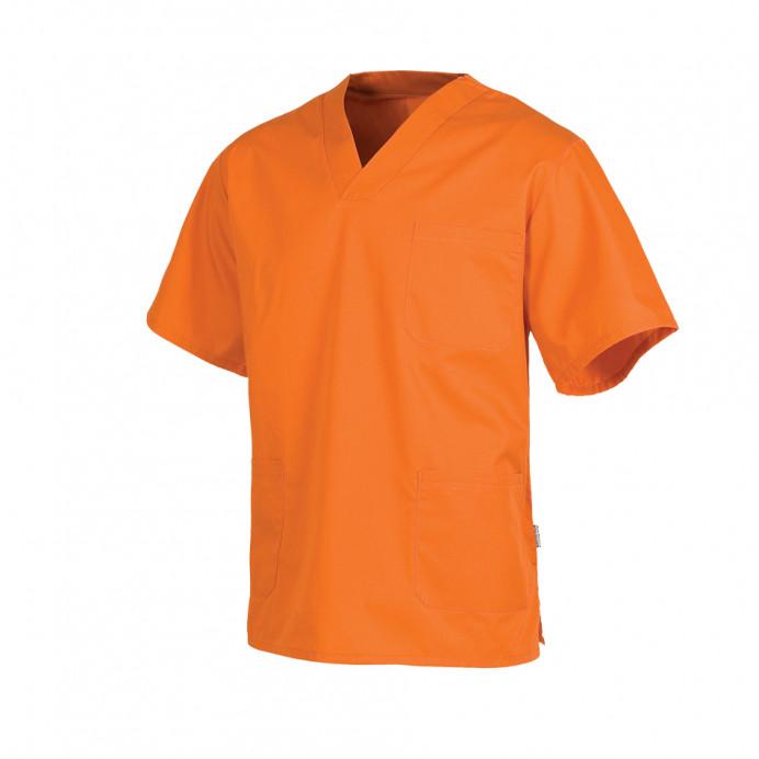 Casaca Unisex Color Naranja