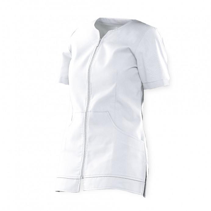 Chaqueta Mujer con cremallera Blanco