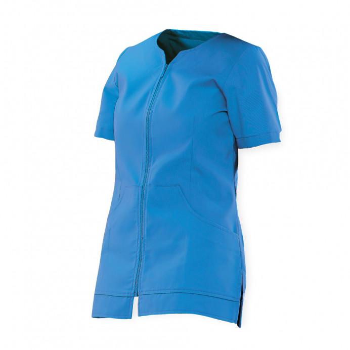 Chaqueta Mujer con cremallera Azul T.XL