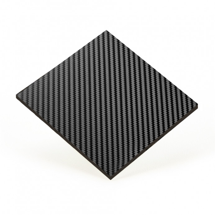 COMPOSITE BLACK FIBER 500x1200 mm.
