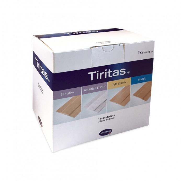 TIRITAS Sensitive carne Rollo 6 cm. x...