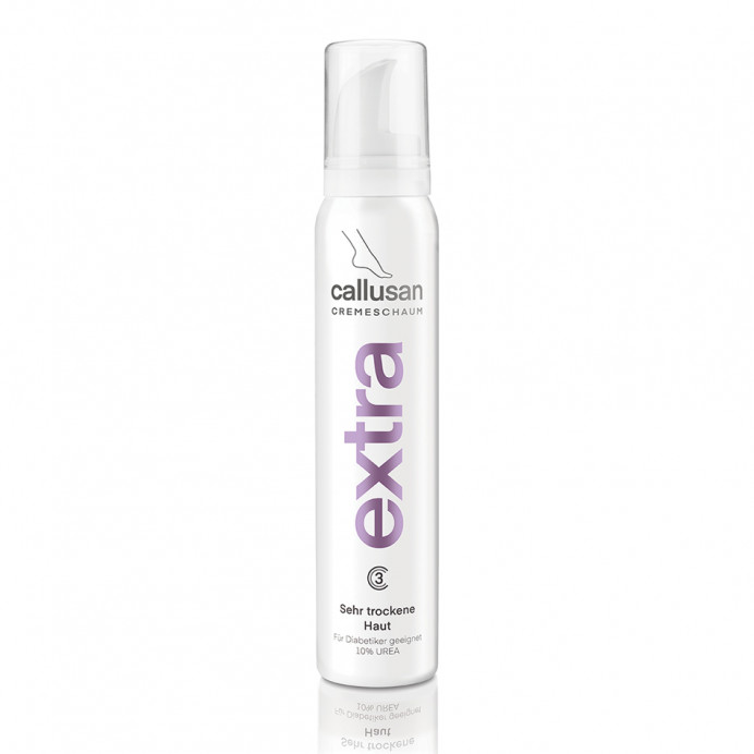 Callusan cream mousse EXTRA 10% Urea