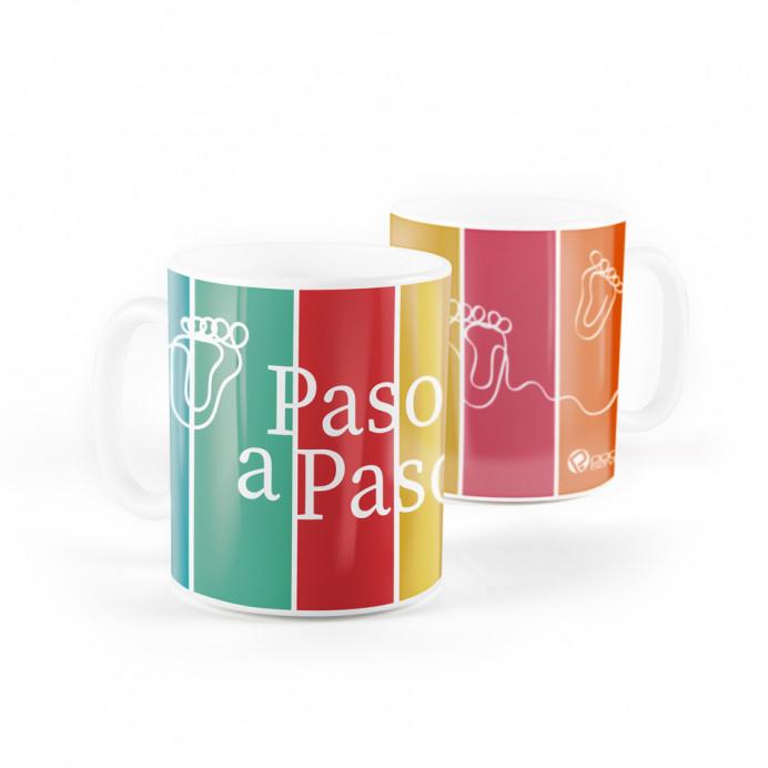"""Taza Podoservice """"Paso a Paso"""""""